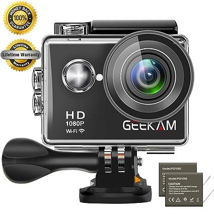 Geekam Action Cam 4k Wasserdichte 30m Unterwasser Wifi Action Kamera s9r Foto & Camcorder