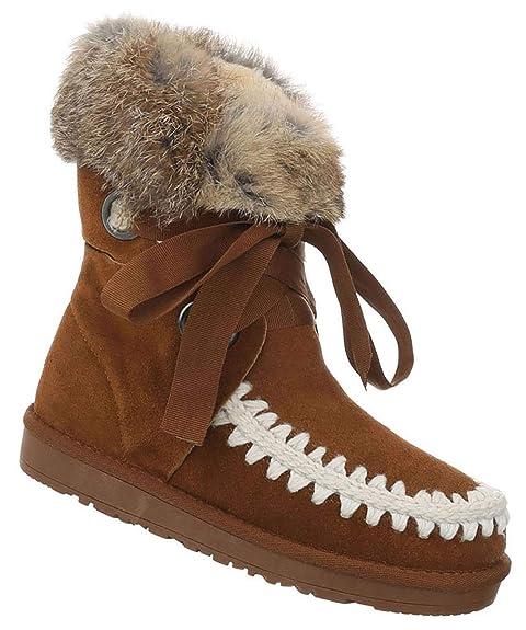 Indianer StiefeletteDick Boots Winter Gefütterte Damen F1TulKJ3c