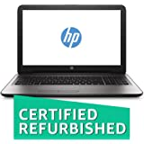 (CERTIFIED REFURBISHED) HP 15-bg001AX 15.6-inch Laptop (6th Gen A8-7410/4GB/1TB/Dos/2GB Graphics), Turbo Silver