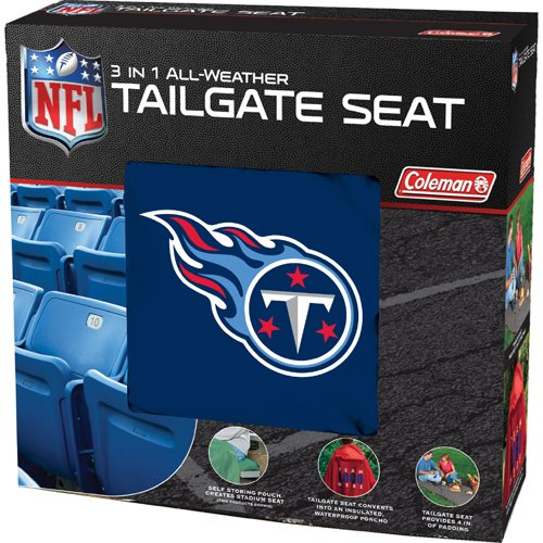 Coleman NFL Titans 3 in 1 Tailgate Seat by Coleman