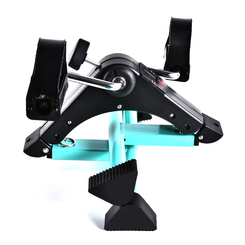 B BAIJIAWEI Portable Pedal Exerciser - Under Desk Exercise Machine - Arm & Leg Exercise Peddler - Folding Low Impact Exercise Bike for Seniors and Elderly by B BAIJIAWEI (Image #7)