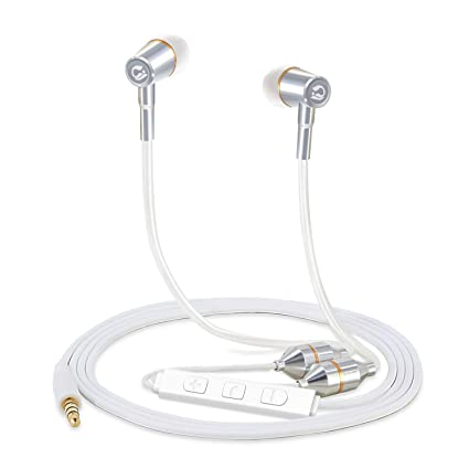 ffc4b93a099 Tuisy Air Tube Headset - Upgraded Radiation Free Headphones Earbuds Earphone  with Microphone and Volume Control