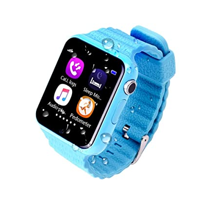 JSGJSH 2018 Pulsera Inteligente Niños Smart Watch V7K Seguridad ...