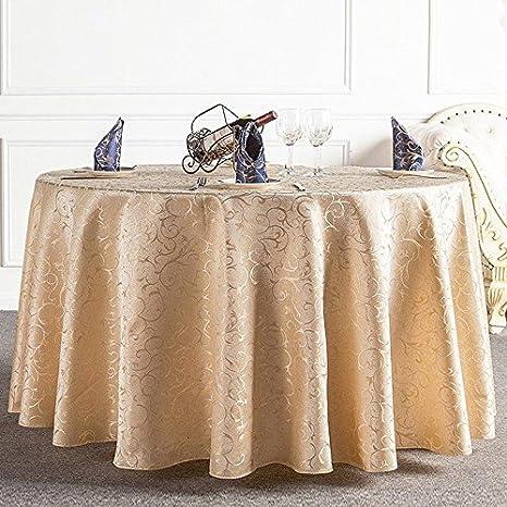 Tovaglie per tavoli rotondi, retro floreale tovaglia di lusso tavolo ...