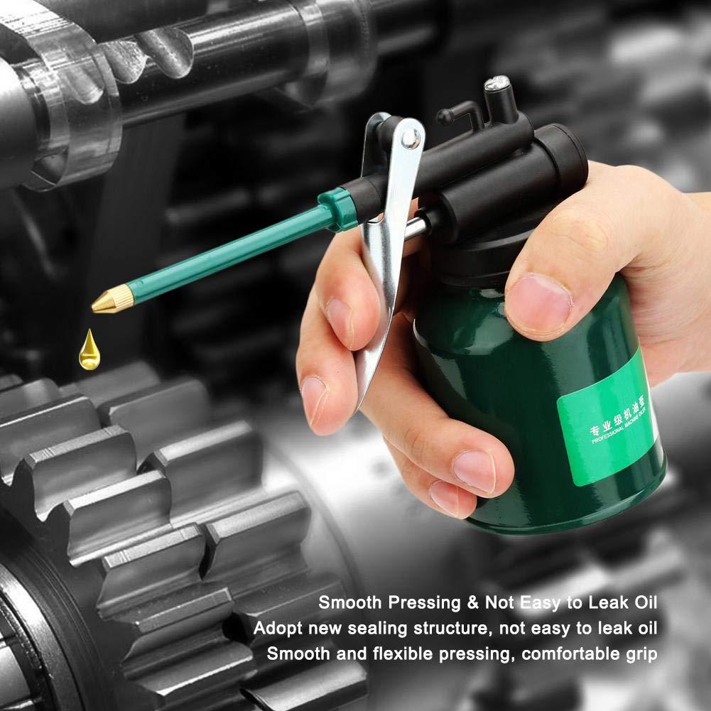 para Alimentaci/ón de Aceite Lubricante Lata de Aceite Lubricante de M/áquina Resistente al Desgaste Buen Sellado Pico Largo Pistola de Engrase Manual de Alta Presi/ón Aceite de Motor Anti-/óxido
