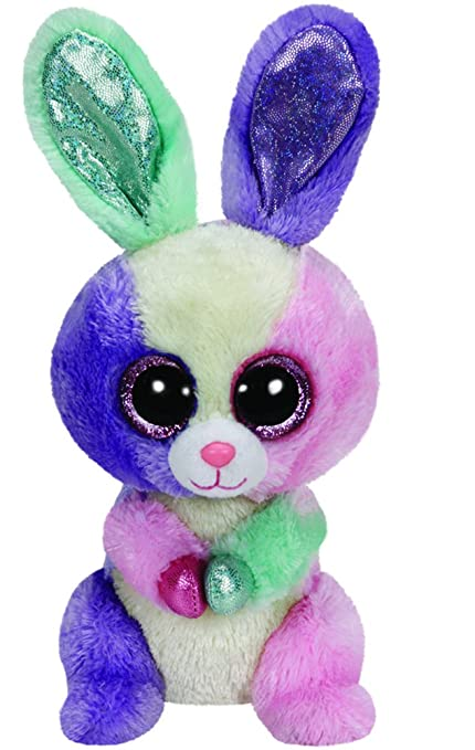 6d9a25cea13 TY Beanie Boo Plush - Blossom the Bunny 15cm (Easter Special ...