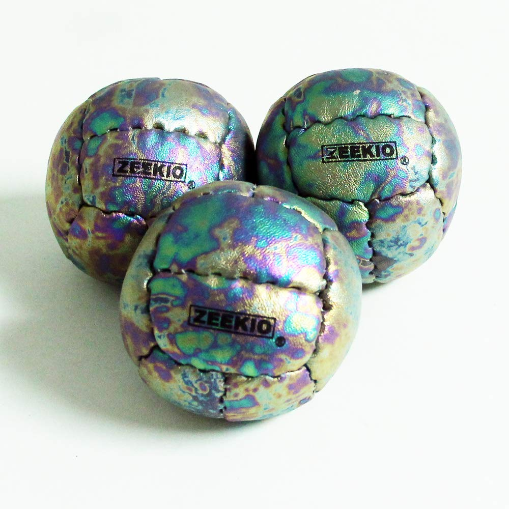 Zeekio Galaxy Juggling Ball Gift Set- 3 Galaxy Juggling Balls 130g 62mm (Cosmos) by Zeekio (Image #2)
