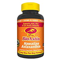 Nutrex Hawaii Bioastin Hawaiin Astaxanthin 12mg - 120 Count