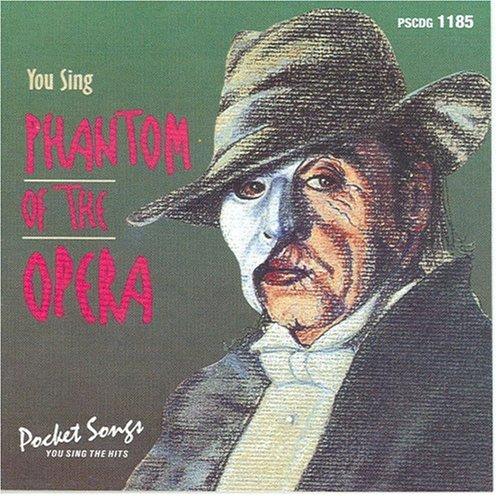 Phantom Of The Opera Karaoke Cd - You Sing the Phantom of the Opera