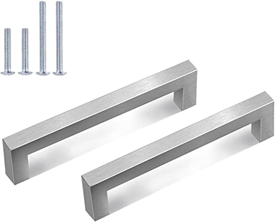Pack50 Solid Stainless Steel Pull Bar Handle For Drawer Kitchen Cabinet Hardware