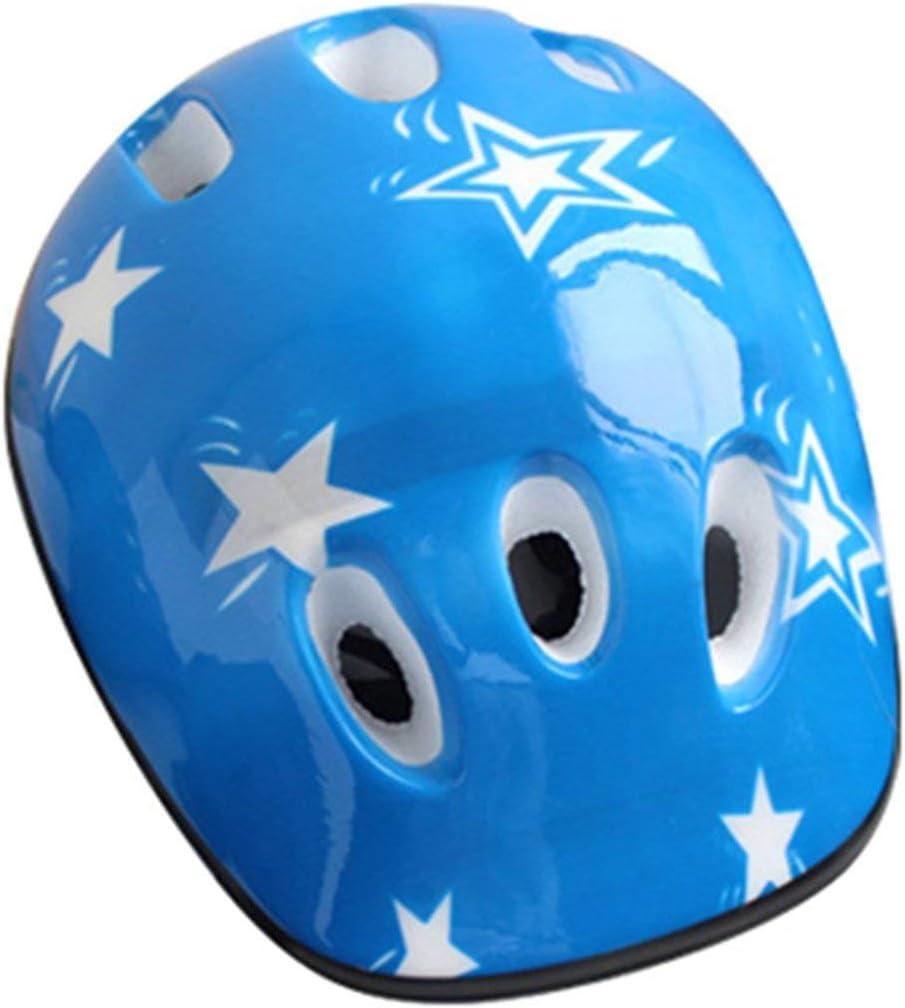 Azul nbvmngjhjlkjlUK 7PCS Set Universal Ni/ños Ni/ños Equipo de protecci/ón Conjunto C/ómodo Scooter Pat/ín Rodillo Ciclismo Rodilleras Codo Juego de Almohadillas