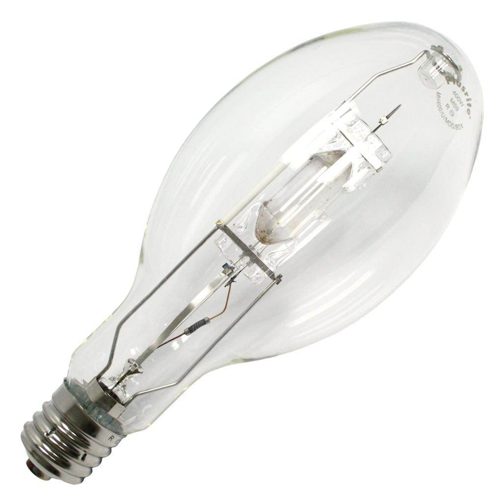 Plusrite 1052 MH400/ED37/U/BDX 400W Metal Halide Light Bulb, Blue