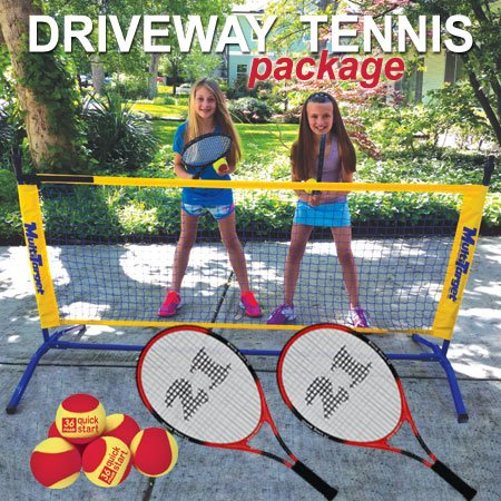 Oncourt Offcourt Driveway Tennis Package - Includes One 6' Net / 2 Whistler Racquets / 6 Foam Tennis Balls by Oncourt Offcourt (Image #6)