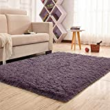 Noahas Super Soft 4.5cm Thick Modern Shag Area Rugs Fluffy Living Room...