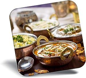 Destination Vinyl ltd Awesome Fridge Magnet - Indian Food Korma Curry Chef 2656