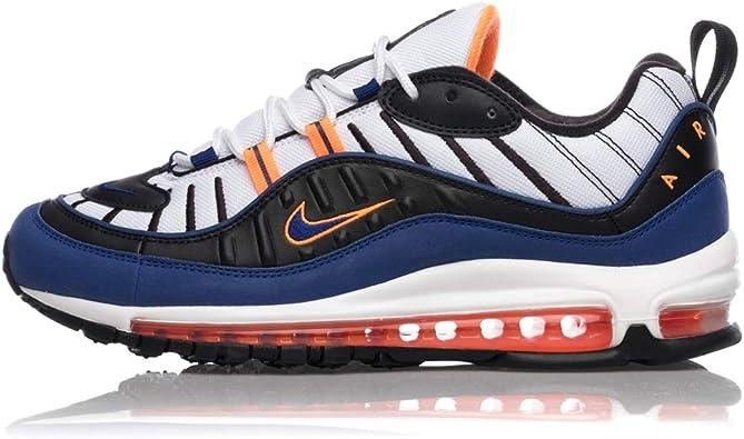 Nike Air MAX 98, Zapatillas para Correr para Hombre, White Deep ...