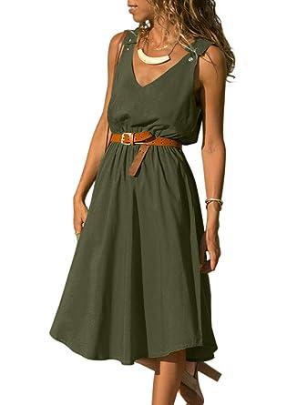 Kleid lang a linie