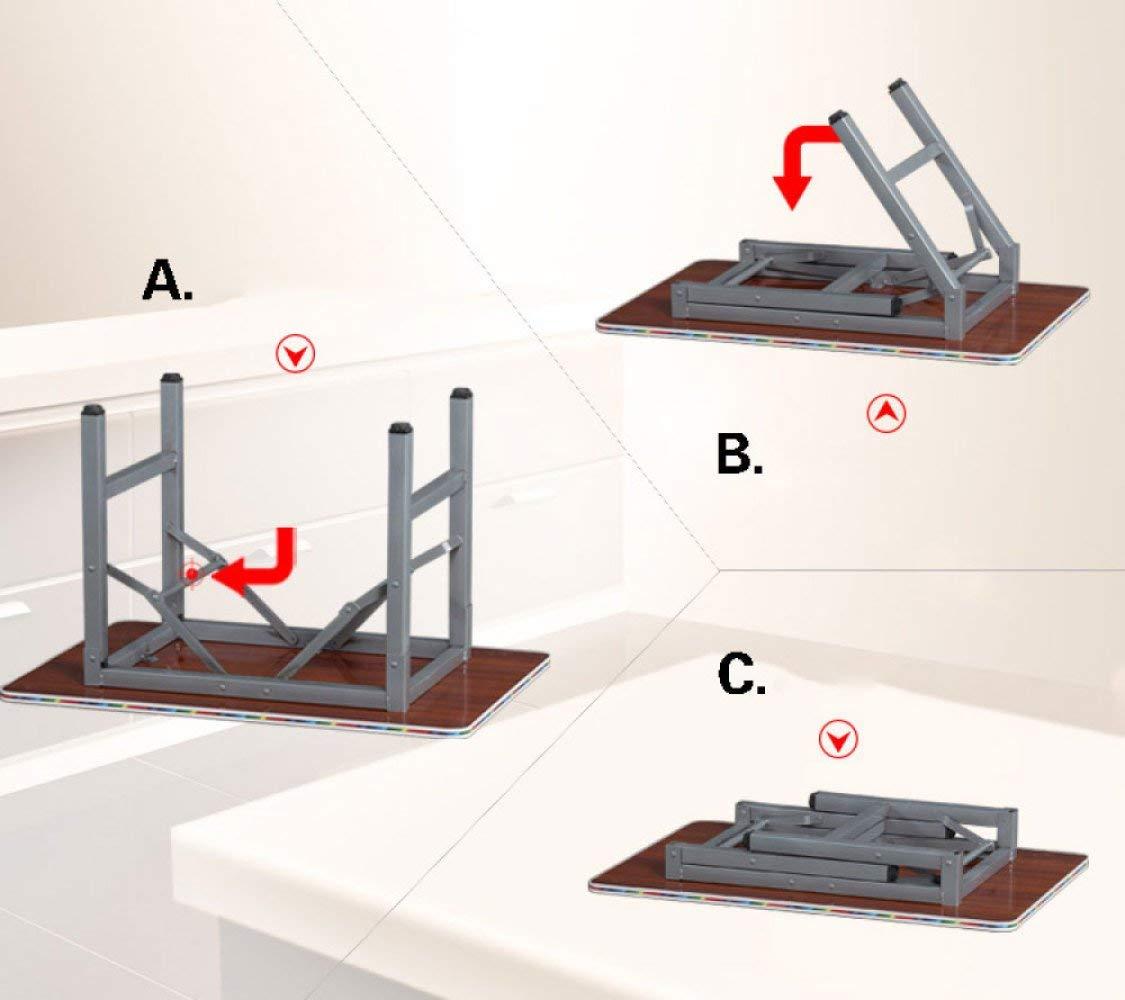 JD Bug fällbart matbord bord för hem stor balkong matbord fällbart bord litet bord, G M