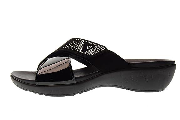 Valleverde Pantoufles pour Femmes V51170 Black Taille 38 Black Jomos Contura 2 Geox Donna Euro D Caprice 24662  Mocassins Femme  Mocassins (Loafers) Femme - Noir - Noir (C999) eUYX0
