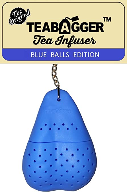 The Teabagger Tea Infuser Funny Gag Gift Novelty Gifts For Men And Women Stocking Stuffers