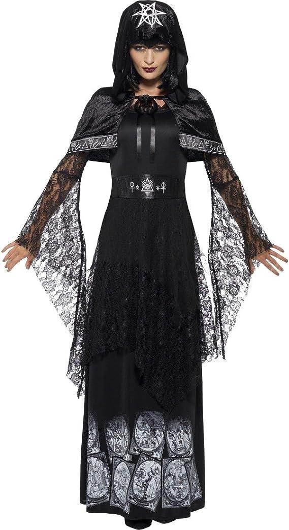 NET TOYS Vestido Maga Oscura - XL (ES 48/50)   Disfraz Bruja ...