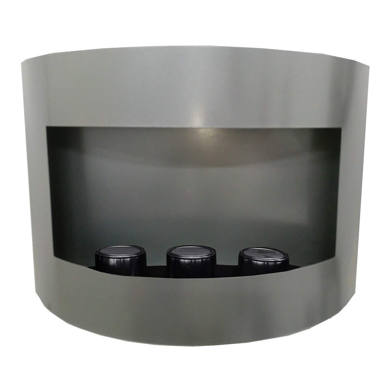 Gelkamin Ethanolkamin Kamin Modell Marseille - Farbwahl (Schwarz) Kaminbau Mierzwa ( df-shopping ) 10183-FR