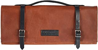 product image for Knife Roll - Leather - Cognac - Made in USA