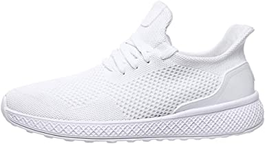 Amazon.com: All White Sneakers for Men