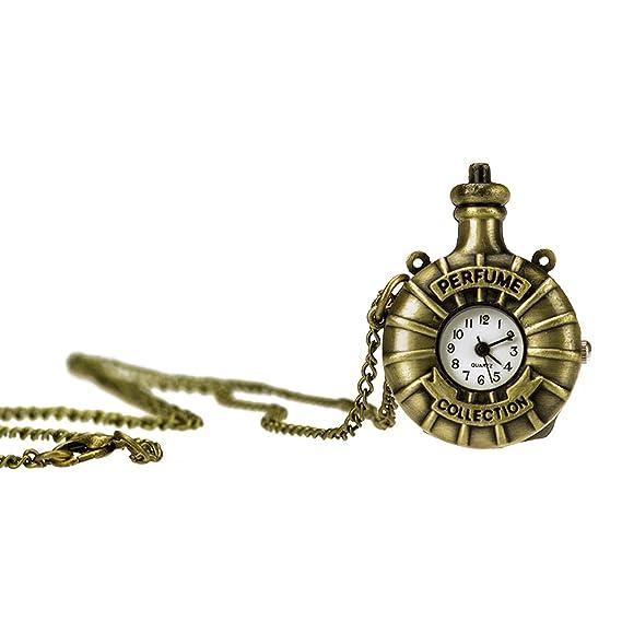 TU 43 con perfume Collection colgante y cadena dorado imitación de largo, collar de bisutería