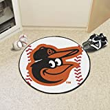 "MLB - Baltimore Orioles Cartoon Bird Baseball Mat 26"""" diameter"
