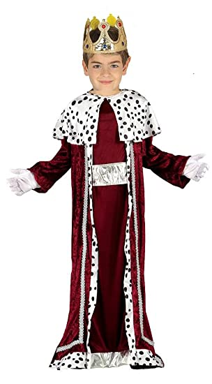 ADULT Deluxe Kings Robes Nativity 3 Wise Men Christmas Cape Crown Fancy Dress