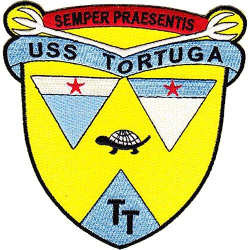 (USS Tortuga LSD-26 Dock Landing Ship Patch)
