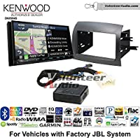 Volunteer Audio Kenwood Excelon DNX994S Double Din Radio Install Kit with GPS Navigation Apple CarPlay Android Auto Fits 2004-2010 Toyota Sienna with Amplified System