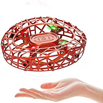 Opinión sobre MARSMO Drones para Niños RC Mini Drone UFO Flying Ball 360° Rotación Flying Drone Quadcopter Controlado a Mano Recargable con Inducción Infrarroja Niños Flying Toy(Naranja)