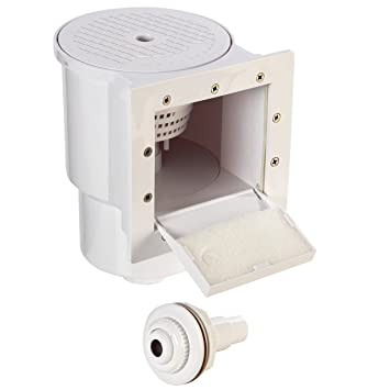 square skimmer box for above ground swimming pool filter systems