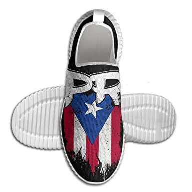 Boricua Flag Men Athletic Casual Shoes