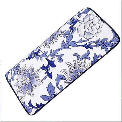 Almohada para ojos con diseño de porcelana azul y blanco ...