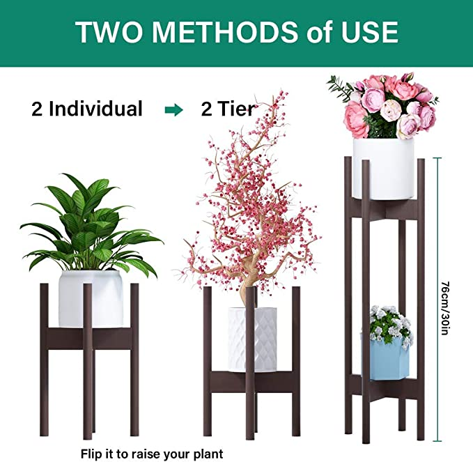 Plant stands Hairpin Legs M Size Two plant stands at special price /& lower shipping costs!! L Size