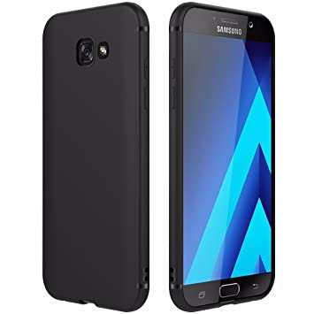 EasyAcc Hülle Case für Samsung Galaxy A5 2017, Weich TPU Matte Oberfläche Handyhülle Schutzhülle Schmaler Cover Kompatibel mi