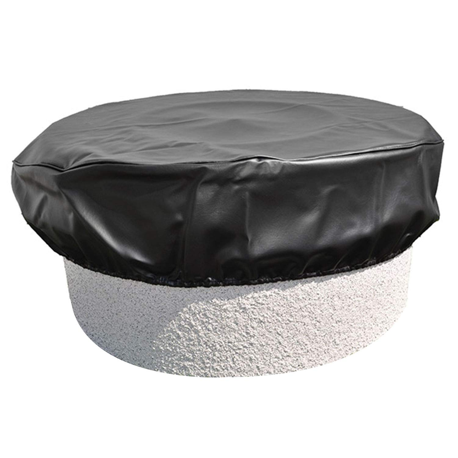 Hearth Products Controls (HPC) Black Vinyl Fire Pit Cover (FPC-53), Round, 53-Inch by Hearth Products Controls