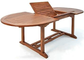 Wooden Garden Dining Table Vanamo In Outdoor Patio