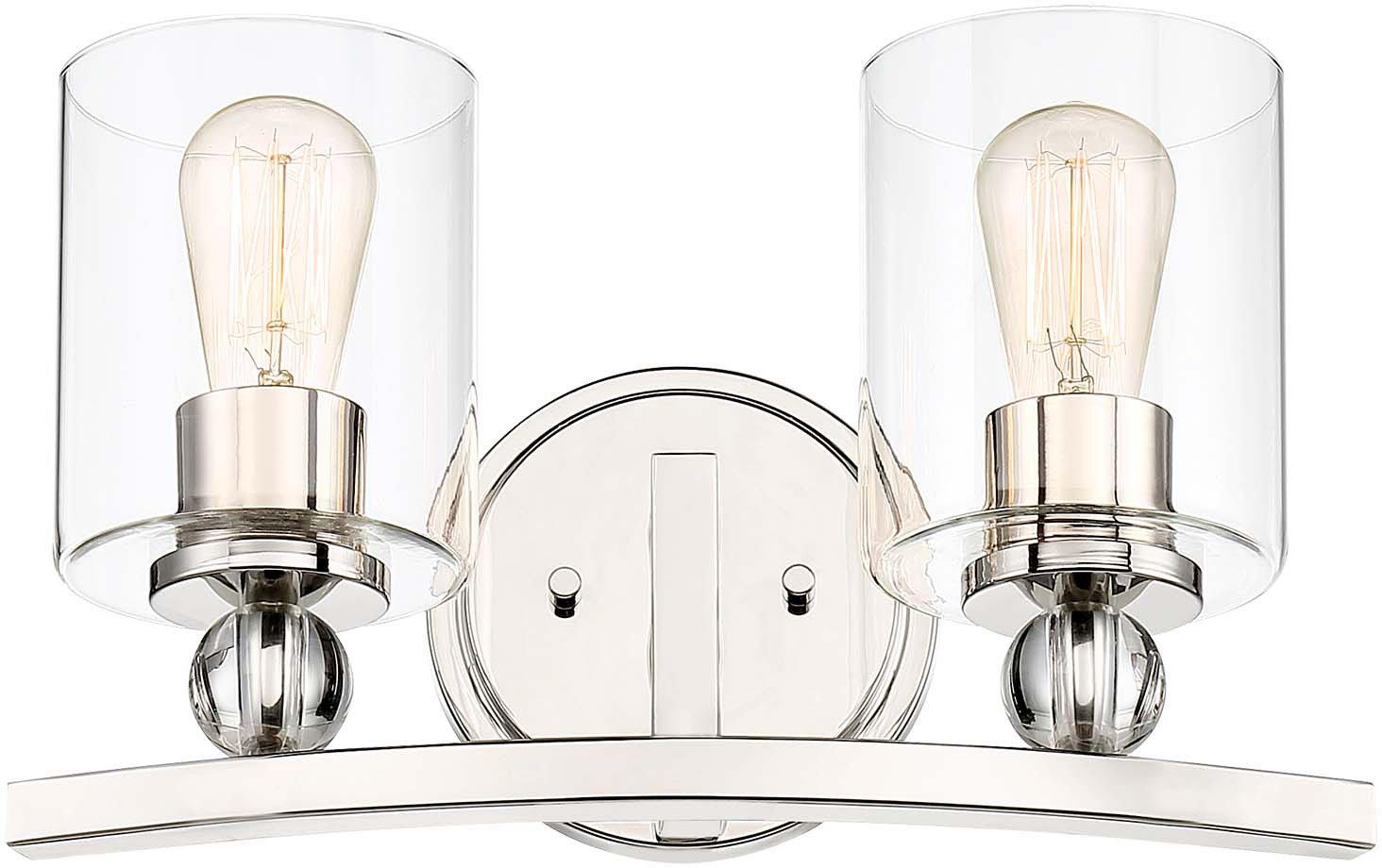 minka-lavery 3072 – 613 Studio 5 LED 16インチポリッシュニッケルbath-bar Lite壁ライト   B076DL8QZS