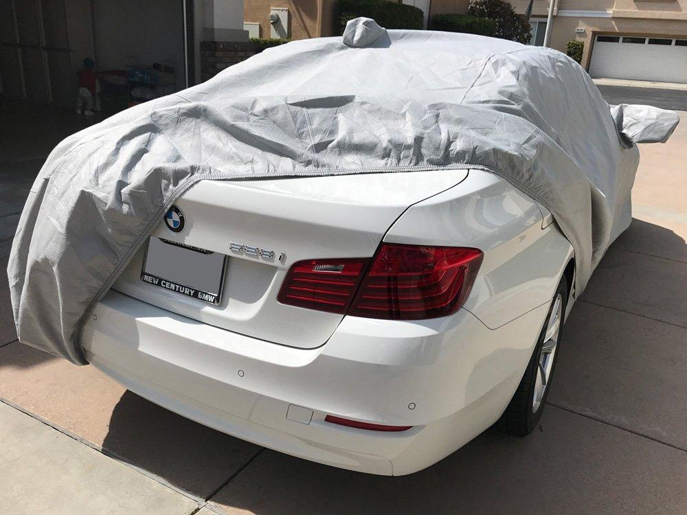 CarsCover Custom Fit 2012-2018 BMW 5 Series M5 528i 530i 530e 535i 535d 540i 550i Car Cover Heavy Duty Weatherproof Ultrashield Covers 528 530 535 540 550