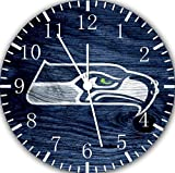 Seahawks Borderless Frameless Wall Clock E447 Nice For Decor Or Gifts
