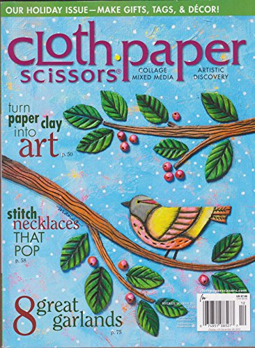 Cloth Paper Scissors Magazine November/ December (Scissors Magazine)