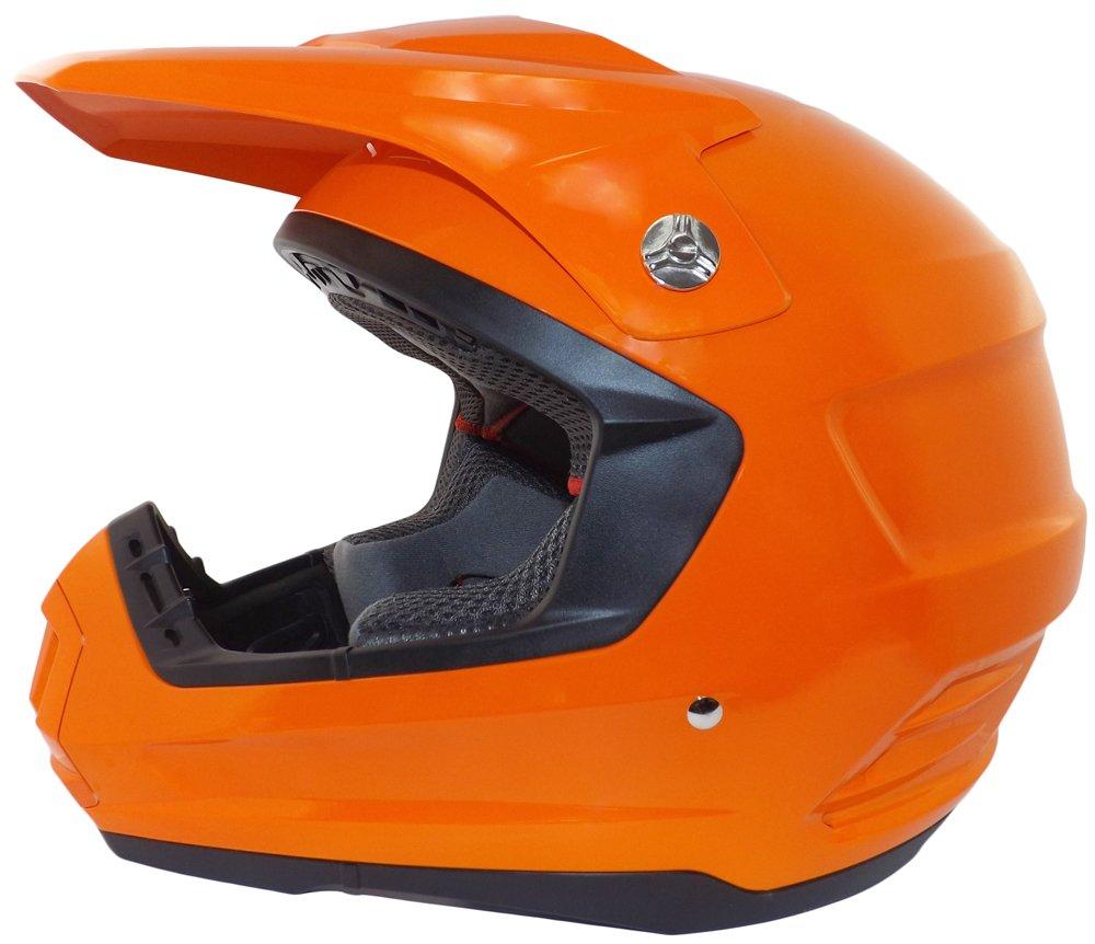 Flat Black, Large Core Helmets MX-1 Off-Road Helmet