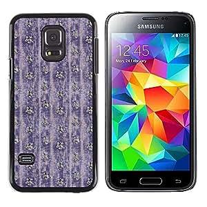 MOBMART Carcasa Funda Case Cover Armor Shell PARA Samsung Galaxy S5 Mini, SM-G800 - Berry Colored Flowers