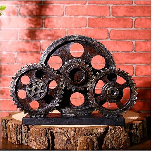 SU@DA Kreativ/Vintage/Getriebe/Ornamente/Bar/American Landhausstil basteln/Dekoration/Harz Geschenke , e21-16632