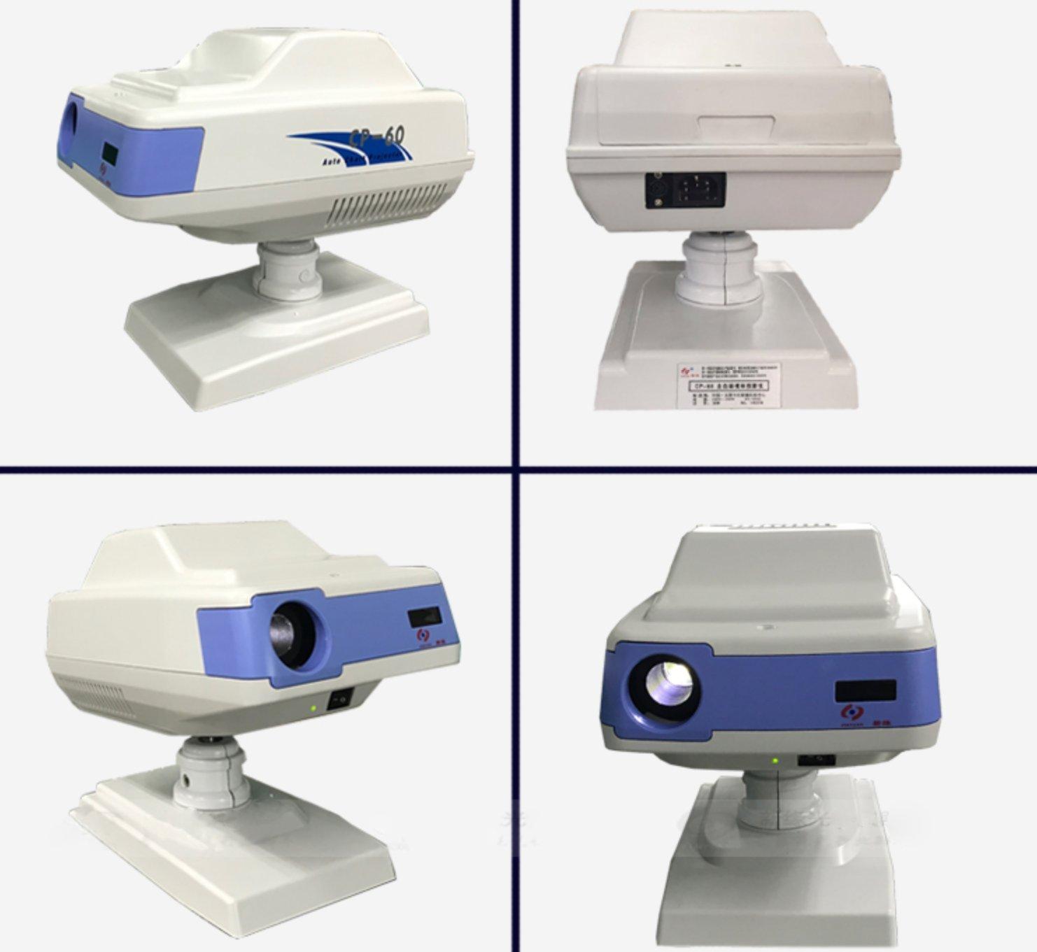Durable LED Auto Chart Projector Optical Eye Vision Chart Projector 39 Charts Options Registered in FDA
