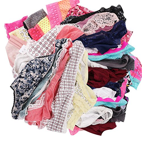 UWOCEKA Women Underwear,Varity of Panties Pack Boyshort Hipster Briefs Assorted